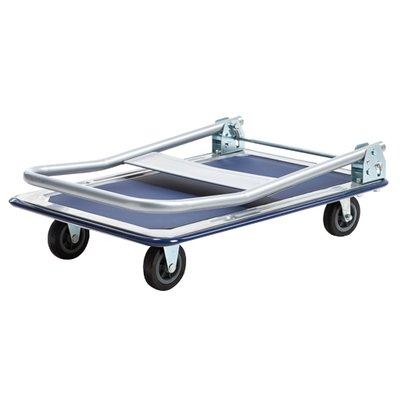 BRASQ Plateauwagen max 150kg transportkar inklapbaar